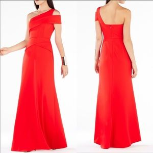 """BCBG """"Annely"""" one shoulder gown"""
